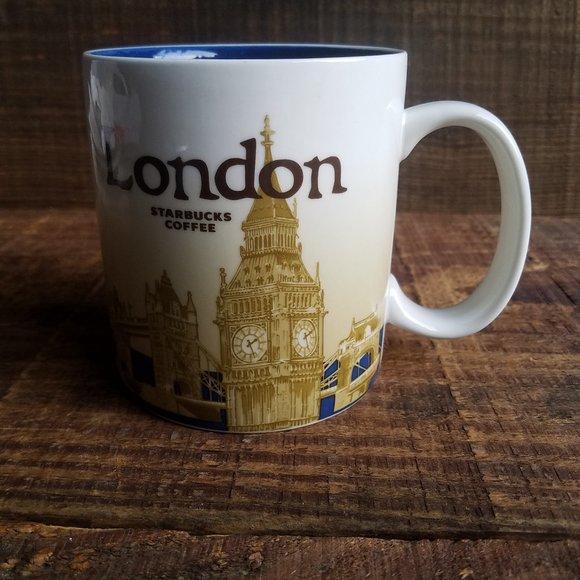 STARBUCKS London Global Icon Big Ben Mug